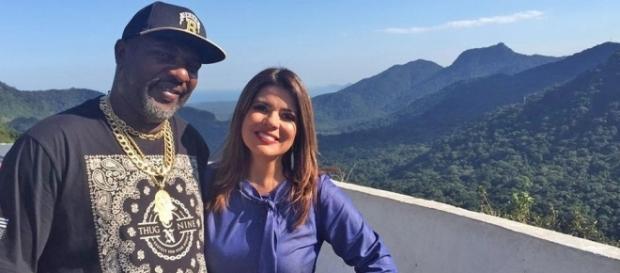 Mr. Catra e Mara Maravilha estão no Bate & Volta   Tv   band.com ... - com.br