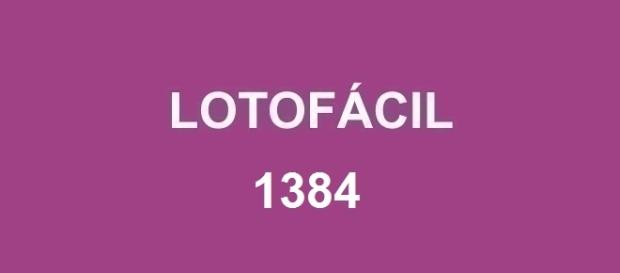 Resultado da Lotofácil 1384 será divulgado nessa quarta-feira, após às 20h