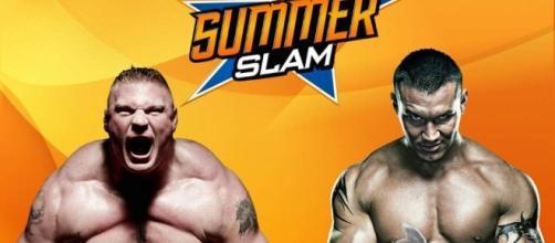 Brock Lesnar vs Randy Orton a Summerslam