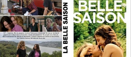 Cartel y varias fotos de 'La belle saison' en su edición francesa de DVD.