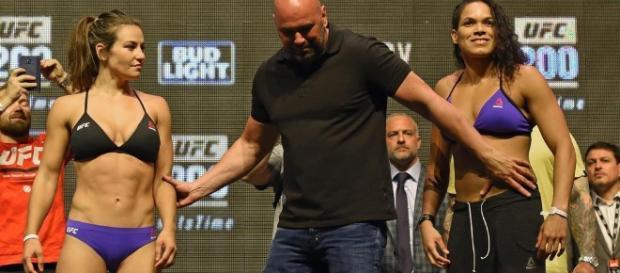 Brasileira fez história no UFC deste final de semana
