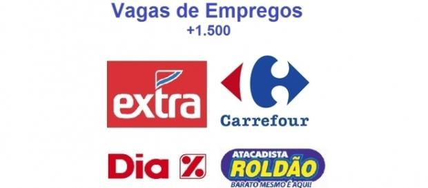 Extra, Carrefour, Dia e Roldão contratam