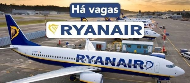 Ryanair está selecionando novos profissionais em diversos países - Foto: Reprodução Ryanair