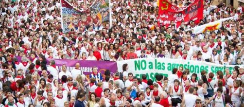 Marcha por una agresión sexual en San Fermín