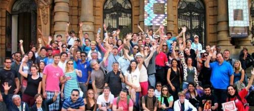 Passeios acontecem na capital paulista desde 2012. (Foto: divulgação / Facebook)