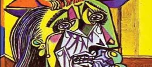 """Picasso's """"Weeping Woman"""" Creative Commons"""
