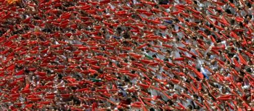 Un multitudinario da inicio a San Fermín 2016