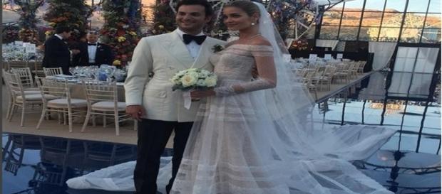 Ana Beatriz Barros casou em um cerimônia luxuosa na Grécia
