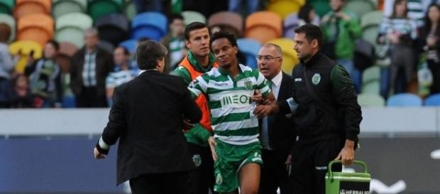 Carrillo continua com problemas no Sporting