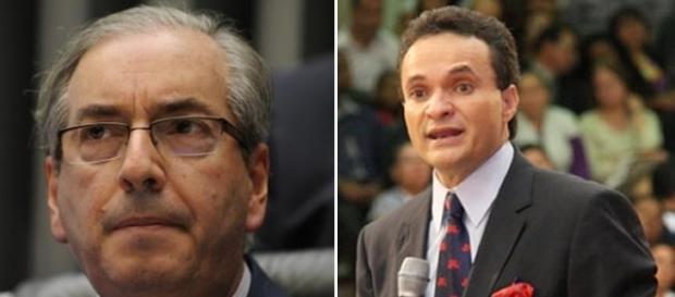 Deputado Eduardo Cunha e Pastor Samuel Ferreira