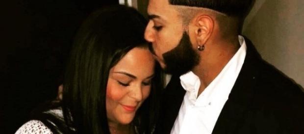 Sarah et Malik, en couple depuis le mois d'Avril