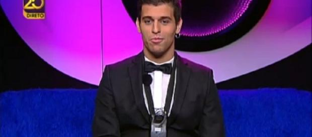 "Tiago participou no reality show ""Casa dos Segredos"""