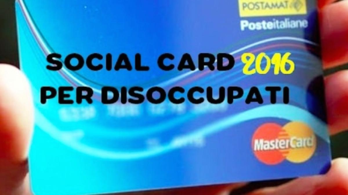 Ufficio Per Richiesta Disoccupazione : Social card disoccupati: chi sono i destinatari e come richiederla