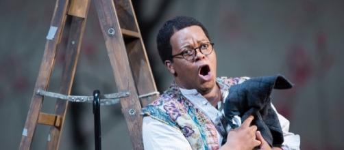 Colline in 'La bohème' at Washington National Opera/Photo by Scott Suchman courtesy of artist.