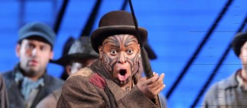 Musa NgQungwana as Queequeg in 'Moby-Dick' at Los Angeles Opera/Photo by Craig T. Matthew via artist.