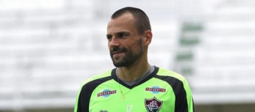 Recuperado de um incômodo muscular, Diego Cavalieri está garantido contra o Vitória, em Salvador (Foto: Nelson Perez / Divulgação FFC)