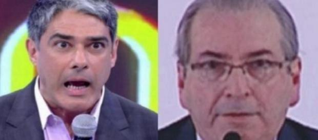 Eduardo Cunha critica jornal de Bonner