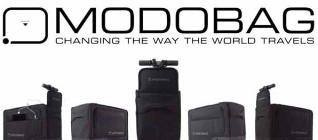 Modobag is the world's first ride-on travel companion (via YouTube/Modobag)
