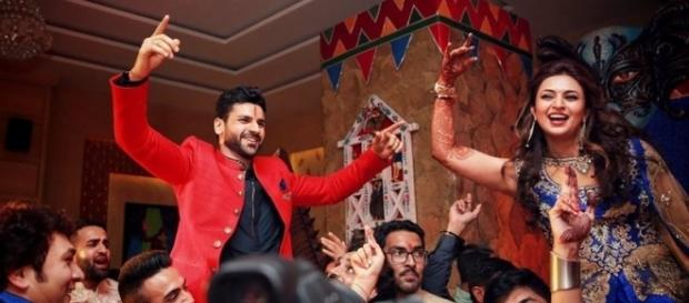 PHOTOS: Divyanka Tripathi, Vivek Dahiya sangeet pics are ... - indianexpress.com