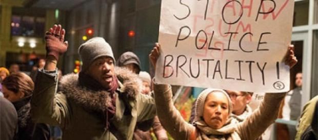 Protestas en contra de la brutalidad policial