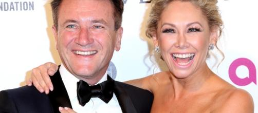 Dancing With the Stars' Kym Johnson Hits Oscars Party With Fiancé ... - eonline.com