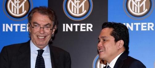 Massimo Moratti ed Eric Thohir, vecchia e nuova presidenza nerazzurra