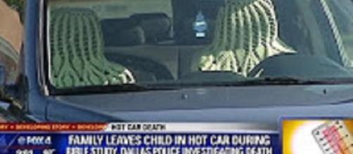 Parents endanger children drunk driving and leaving kids in hot cars. Source: Youtube still