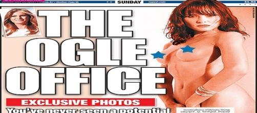 The New York Post - Melania Trump nuda foto- femminismo Hillary Clinton
