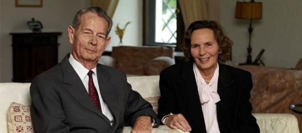 Regina Ana, alături de Majestatea Sa, Regele Mihai