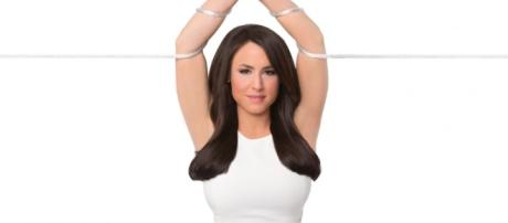 Andrea Tantaros suspended over book and cover cites Fox News source: Photo: Andrea Tantaros book promo 'Tied Up in Knots'