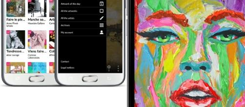 By launching an app, Carre d'artistes hopes to reach more fans of art. / Photo via Aurelia Quemeneur, Carre d'artistes. Used with permission.