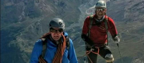 Jamie Andrew, primo quadruplo amputato a scalare il Cervino