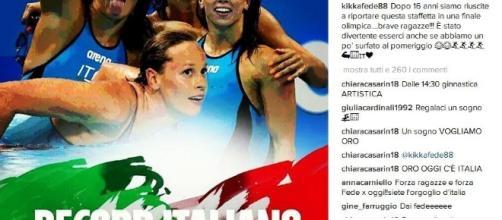 Olimpiadi di Rio 2016 quarto posto per Federica Pellegrini