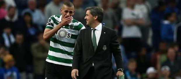 Slimani quer sair já do Sporting