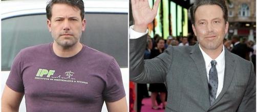 Ben Affleck en el estreno de la película Escuadrón suicida