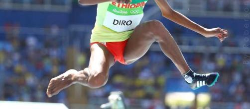 Etenesh Diro Atleta etíope en los 3mil metros con obstaculo - www.si.com - By Roberson
