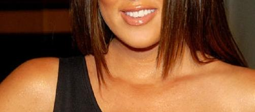 Khloe Kardashian before 40 pound weight loss. Source: Wikimedia user Toglenn