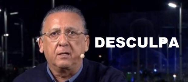 Galvão Bueno precisou se desculpar