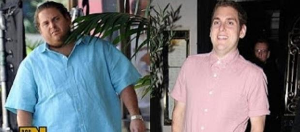 Jonah Hill weight gain weight loss yo-yo. Source: Youtube still