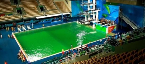 La piscina verde de Río 2016 ya tiene explicación