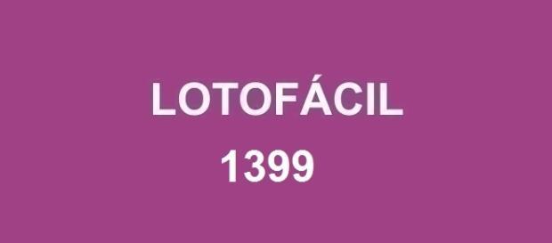 Resultado da Lotofácil 1399 divulgado nesta quarta-feira, dia 10