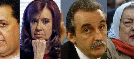 D'elia, Cristina, Moreno y Hebe, Kirchnerismo de ultra derecha