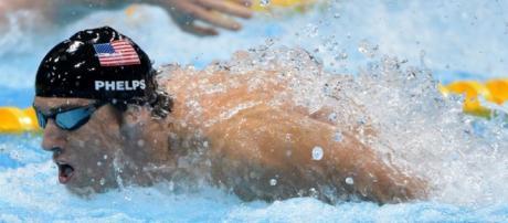 Michael Phelps perde o ouro, mas ganha prata com pódio triplo (Foto: Rio2016/Reprodução)