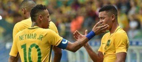 Neymar comanda o Brasil em busca da classificação para as semifinais das Olimpíadas.