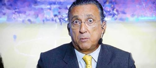 Comentarista da BBC manda Galvão calar a boca.