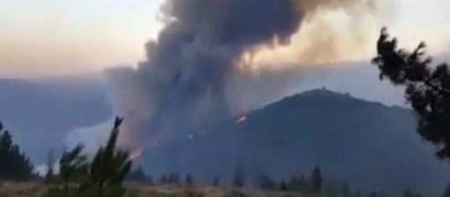 Incendios intencionales en Galicia