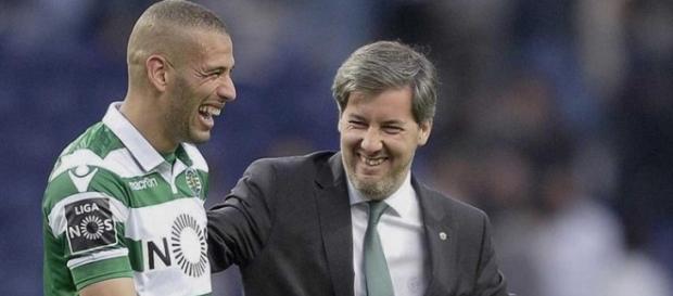 Bruno de Carvalho quer continuar com Slimani