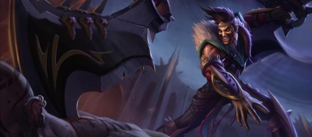 Draven, campeón del League of Legends