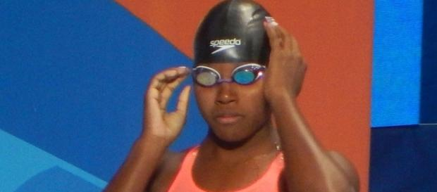 Gold medalist Simone Manuel would be a graet pick for the 'Dancing with the Stars' cast. Chan-Fan/Wikimedia Commons