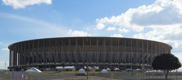 Mané Garrincha, em Brasília, verá o confronto entre Fluminense e Palmeiras no próximo dia 28 pelo Brasileiro (Foto: Site da CBF)